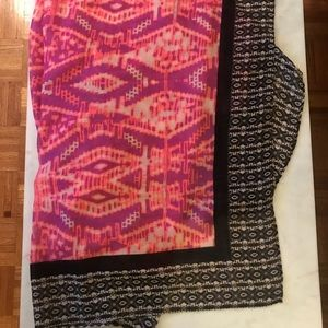 "Roffe Accessories - NWT Roffe Printed Scarf, Measures 38.5"" x 78"""